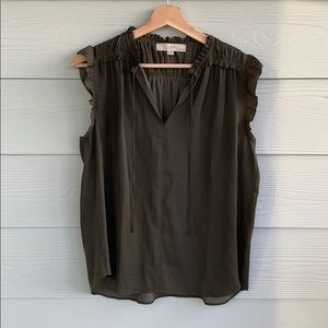 Loft sleeveless blouse | size MP